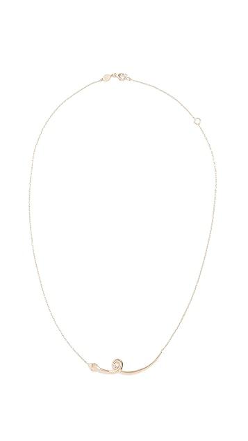 Sorellina 18k Gold Snake Necklace