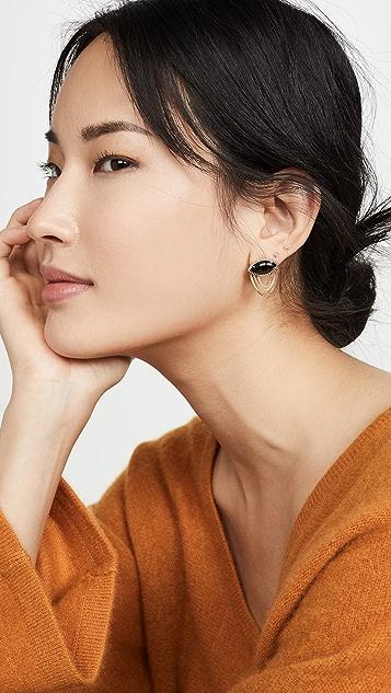 Sorellina 18k Axl Marquise Fringe Earrings