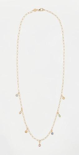 Sorellina - 18k Monroe Multi-Shape Bezel Necklace