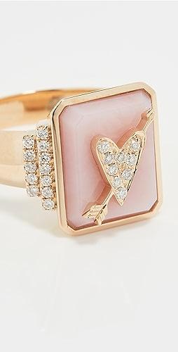 Sorellina - 18k Classic Signet Ring
