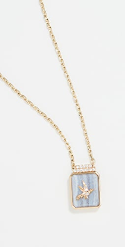 Sorellina - 18k Classic Signet Necklace