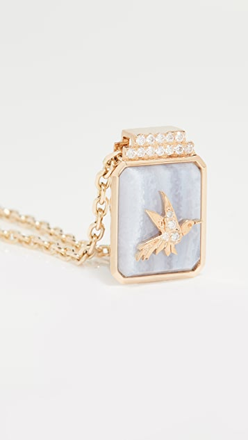 Sorellina 18k Classic Signet Necklace