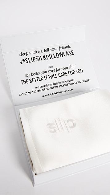 Slip Шелковая наволочка Slip Silk Pure Silk Queen