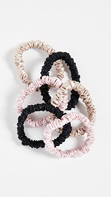 Slip Silk Scrunchies 6 Pack