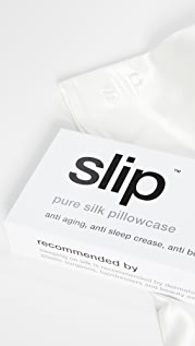 Slip White King Pillowcase