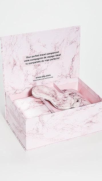 Slip Дорожный набор Pink Marble