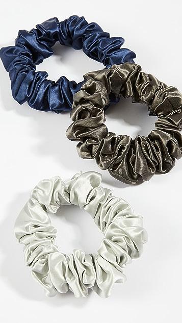 Slip Scrunchies Large Set of 3