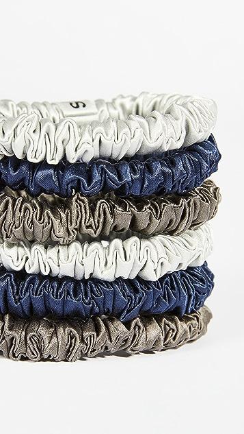Slip Scrunchies Small Set of 6