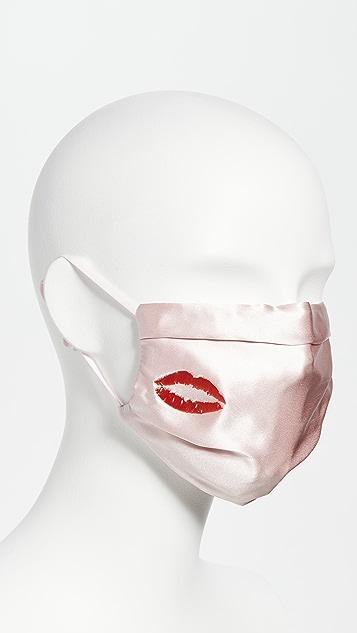 Slip 粉色之吻口罩