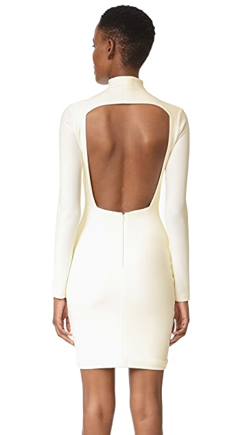 Solace London Pavan Open Back Dress