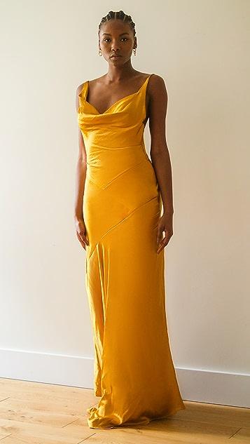 Solace London Aletta 长连衣裙