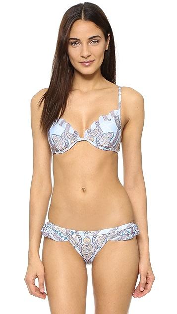 Somedays Lovin Lotus Scallop Bikini Top