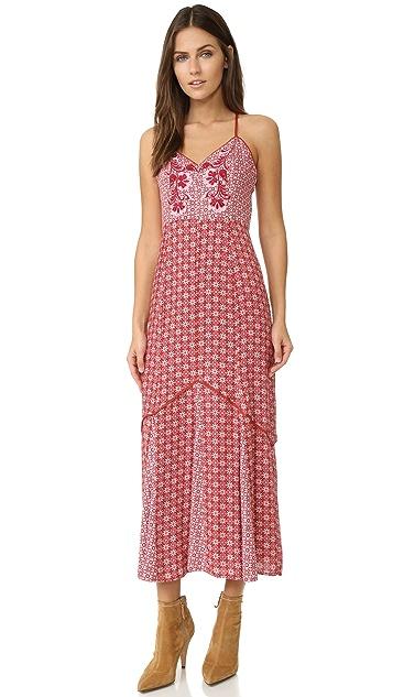 Somedays Lovin Crimson & Clover Maxi Dress