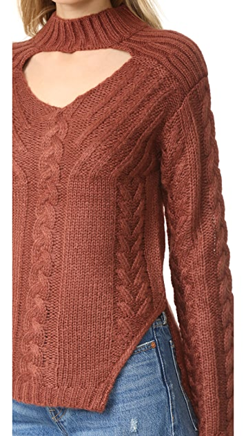 Somedays Lovin Texan Cable Knit Sweater