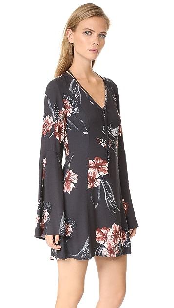 Somedays Lovin Homecoming Floral Dress