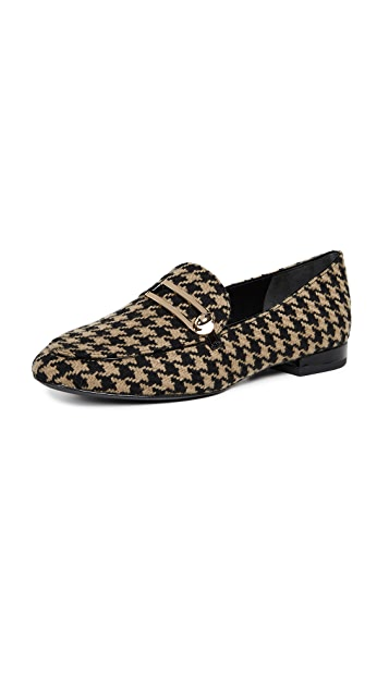 Stella Luna Classic Houndstooth Loafers