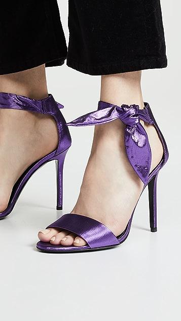 Stella Luna Cocktail Bow Sandals