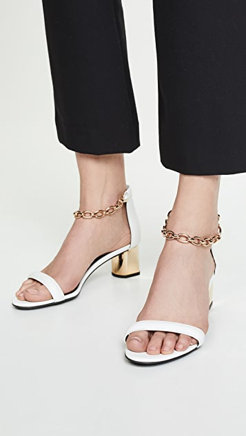 Stella Luna Сандалии с цепочками на щиколотках