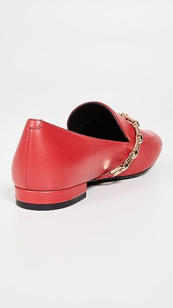 Stella Luna Chain Loafers