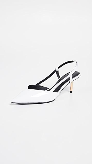 Cigarette Slingback Pumps by Stella Luna