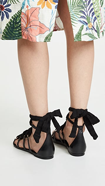 Stella Luna Link Flats Sandals