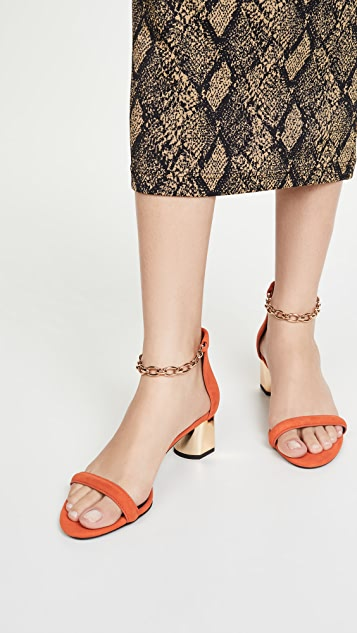 Stella Luna Ankle Chain Sandals