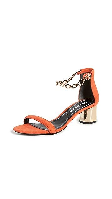 Stella Luna Ankle Chain Sandals