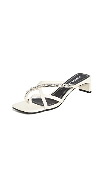 Stella Luna 绑带式链式凉拖鞋