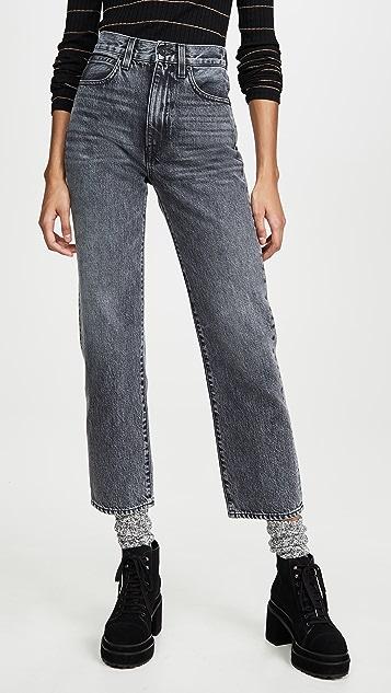 SLVRLAKE London Crop Jeans