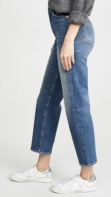 SLVRLAKE 伦敦风情男孩风格七分牛仔裤