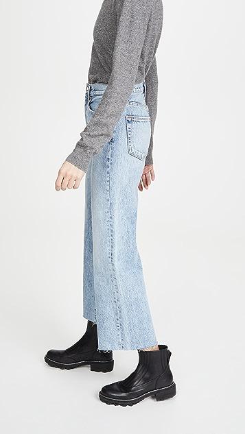SLVRLAKE Grace 九分牛仔裤
