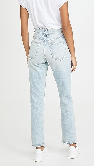 SLVRLAKE Virginia Slim Jeans