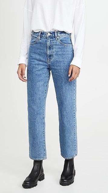 SLVRLAKE Укороченные джинсы London