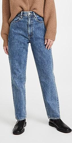 SLVRLAKE - Dakota 休闲高腰锥形牛仔裤