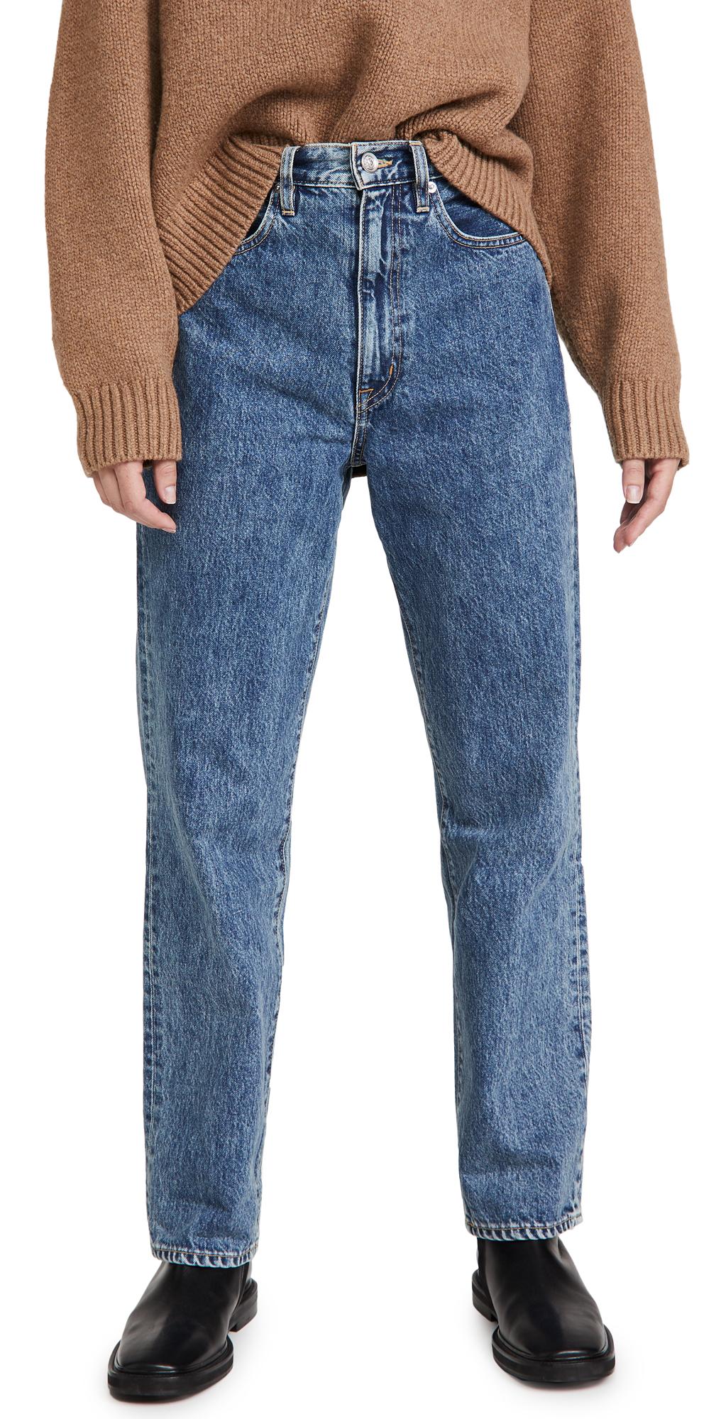 SLVRLAKE Dakota High Rise Relaxed Tapered Leg Jeans