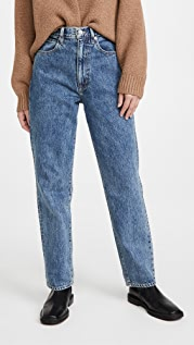 SLVRLAKE Dakota High Rise Relaxed Tapered Leg Jeans
