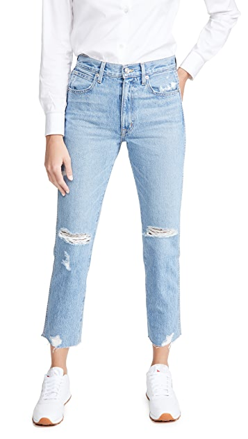 SLVRLAKE Hero High Rise Slim Straight Jeans