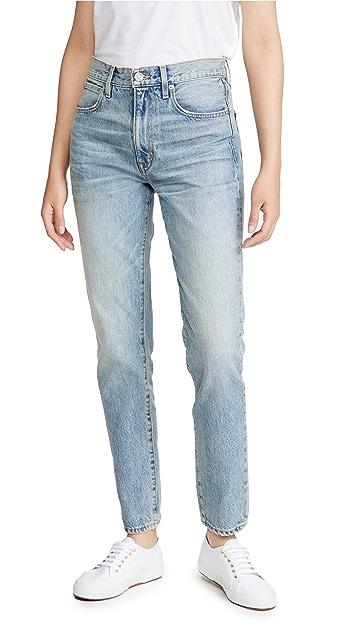 SLVRLAKE Roxy 中腰修身版型牛仔裤