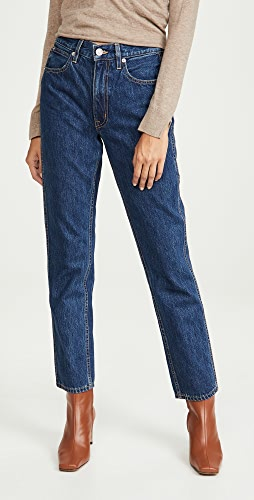 SLVRLAKE - Virginia 高腰锥形牛仔裤