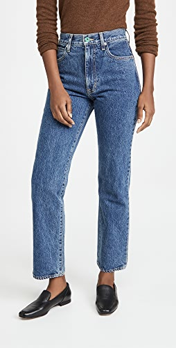 SLVRLAKE - London High Rise Straight Jeans
