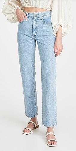 SLVRLAKE - London High Rise Straight Jeans