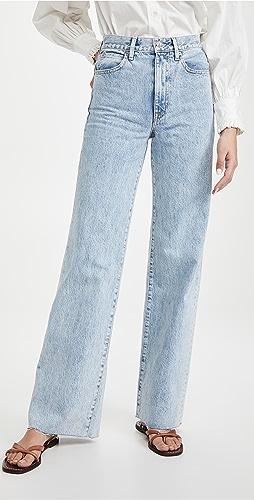 SLVRLAKE - Grace High Rise Wide Leg Jeans