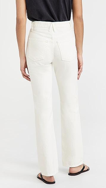 SLVRLAKE London White Destructed Jeans