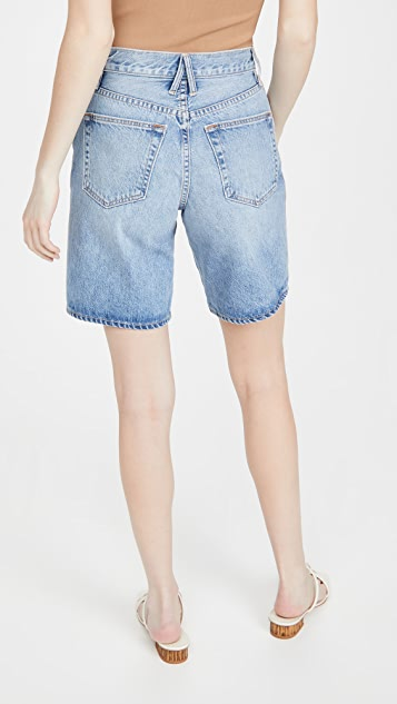 SLVRLAKE London 牛仔布短裤