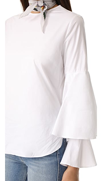 Style Mafia Cascade Sleeve Blouse