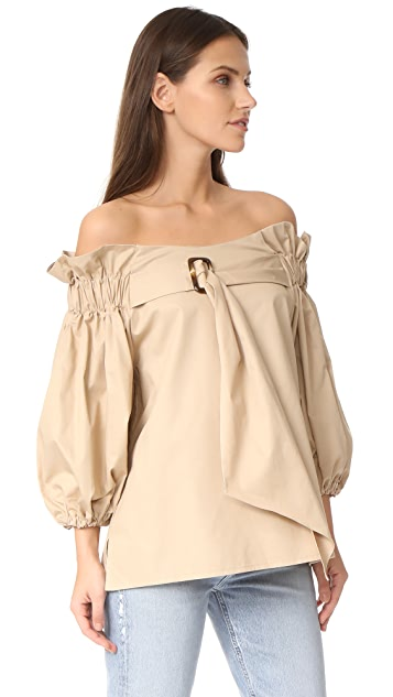 Style Mafia Belted Blouse