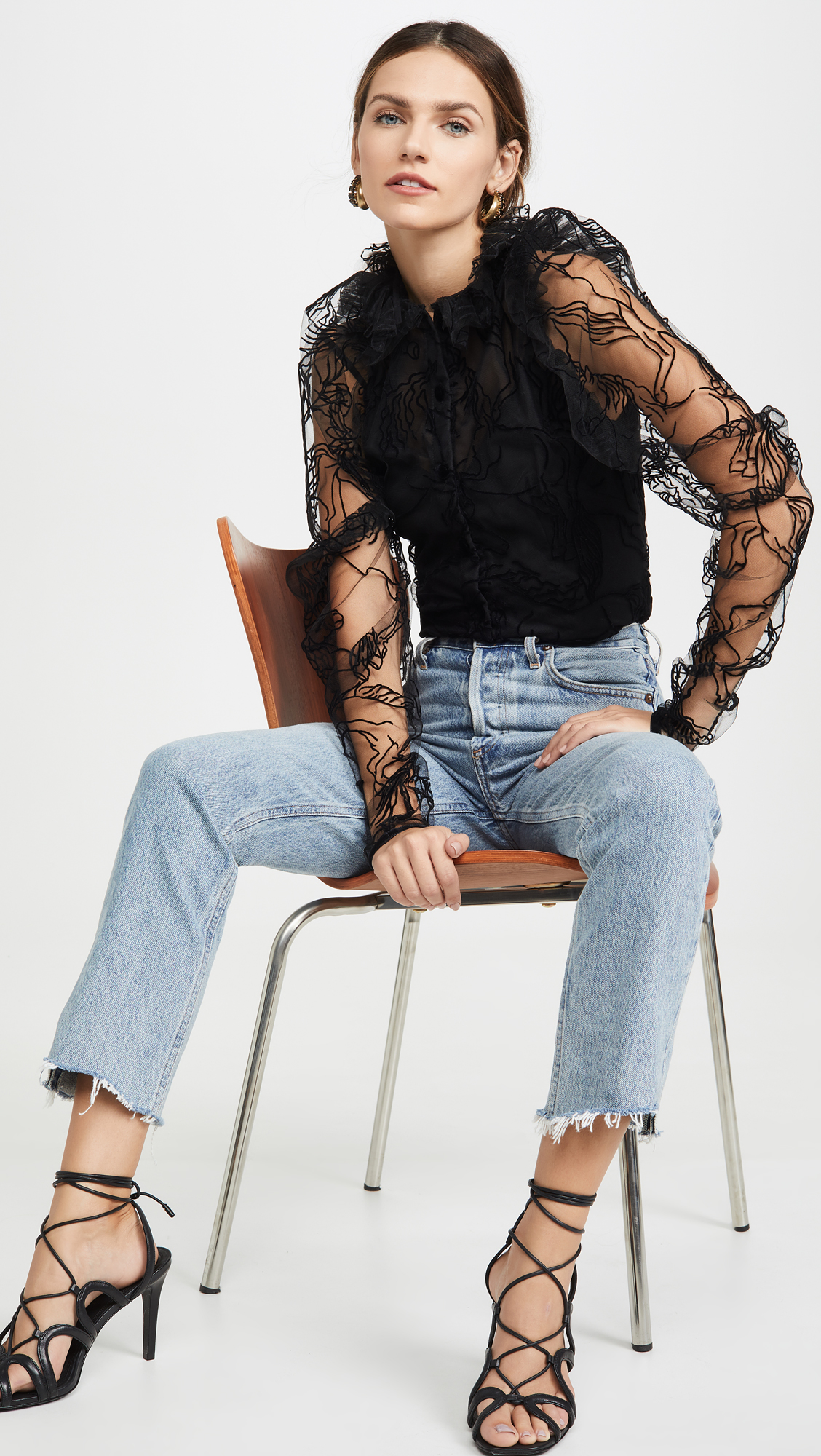 4 Velvet Tops to Dress Up Jeans for Every Party This Season