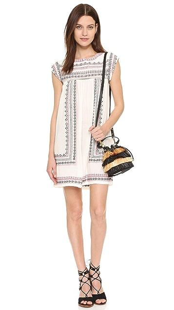 ... Star Mela Allie Embroidered Dress ...