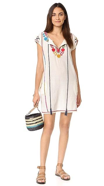 Star Mela Lani Embroidered Dress