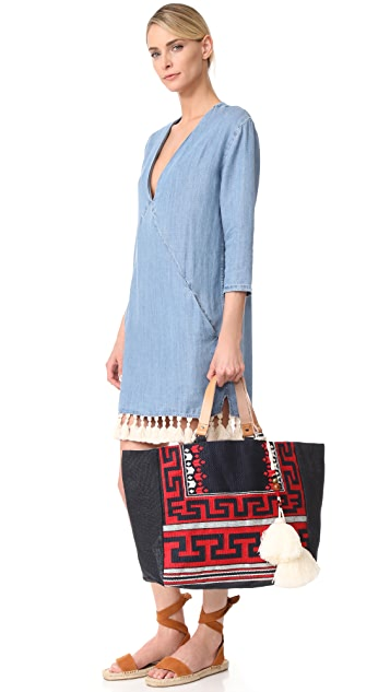 Star Mela Myra Embroidered Tote